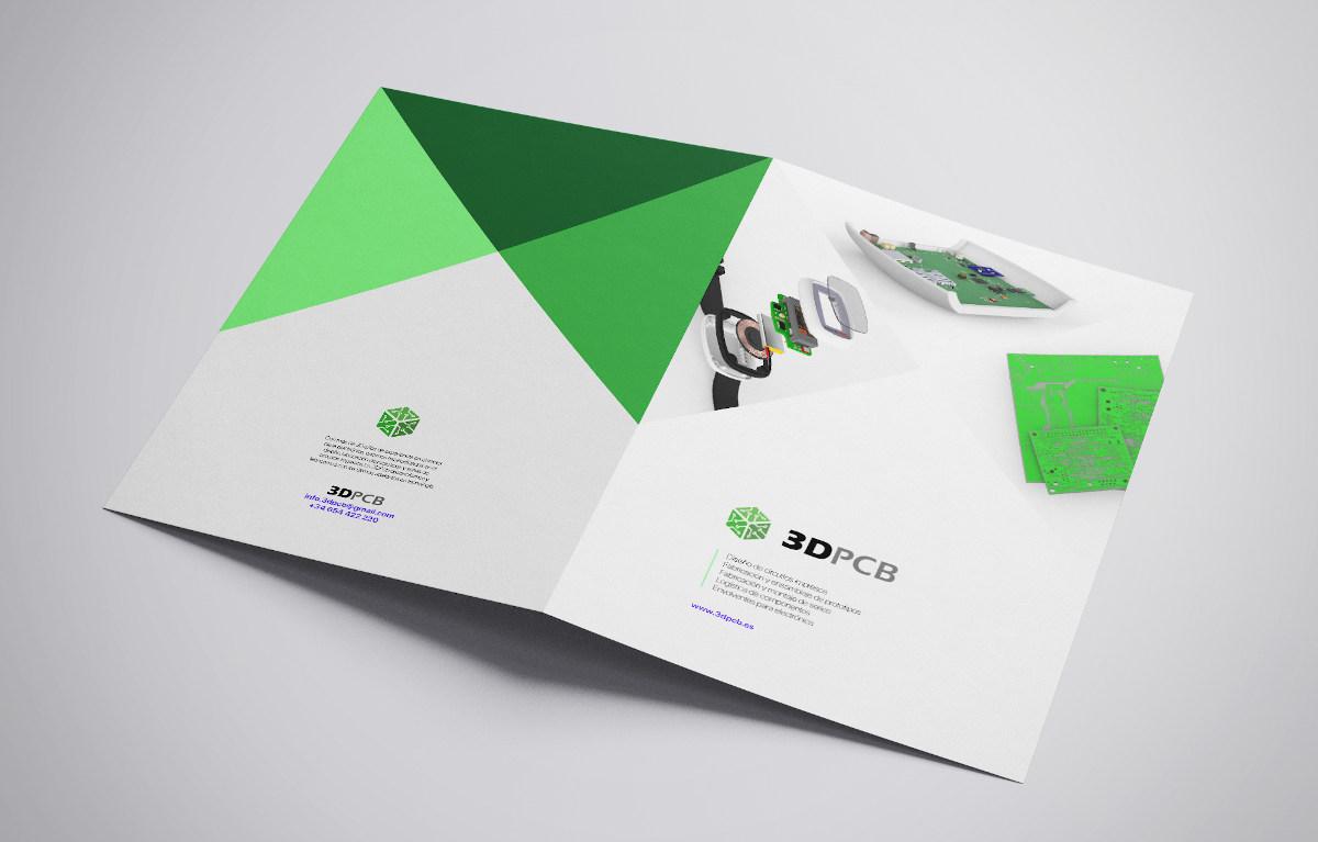 diseño gráfico editorial 3dpcb electrónica