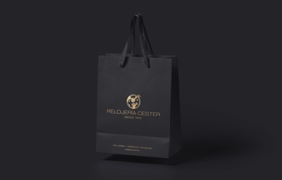diseño imagen corporativa relojeria cester