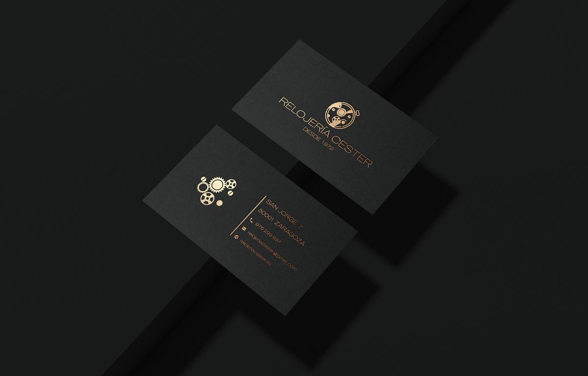 diseño imagen corporativa relojeria cester 2