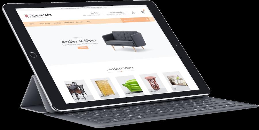 proyectos de diseño web y tienda online
