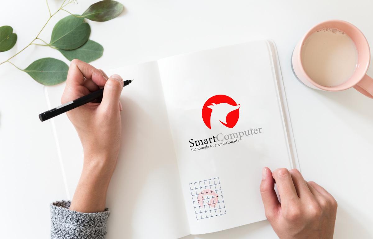 diseno logotipo smartcomputer