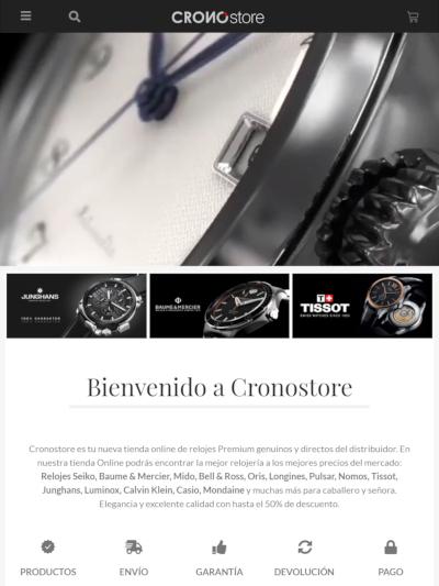 pantalla tablet tienda online venta relojes