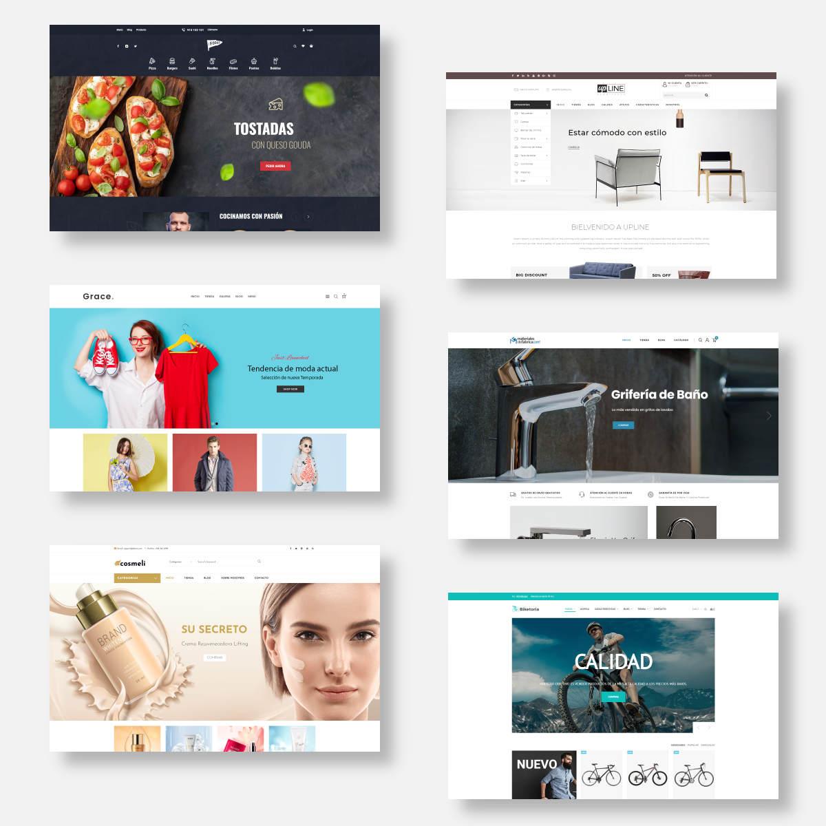 diseño tiendas online woocommerce 2