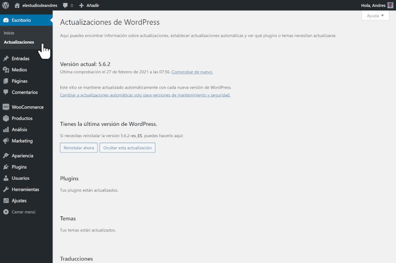 manual de uso de wordpress 3