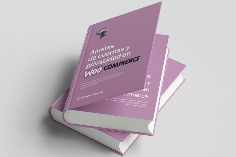 ajustes de cuentas y privacidad en woocommerce