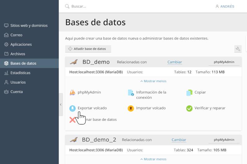 copia de seguridad de la base de datos 5