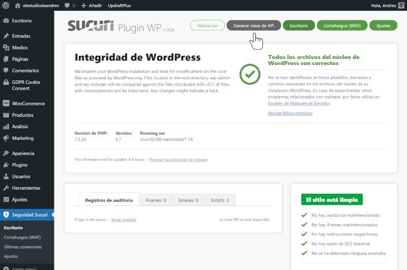 guia de seguridad en wordpress 2