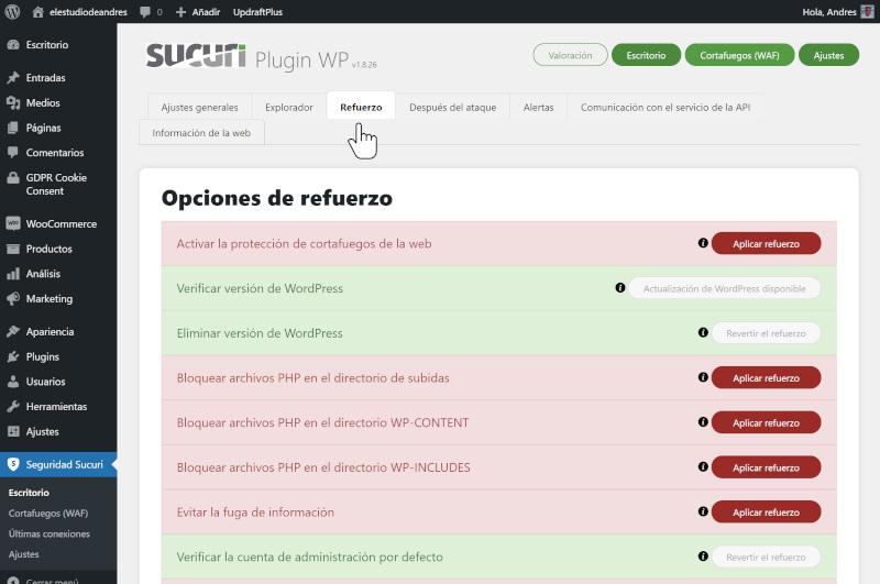 guia de seguridad en wordpress 3
