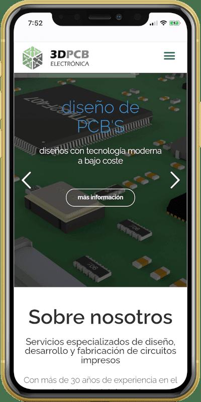 diseño pagina web empresa ingenieria